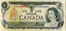 .Paper Money Canada 1973 1 dollar ECD0104806