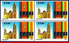 2126-Q MEXICO 1999 TOURISM COAHUILA, CHURCHES, ARCHITECTURE, (3.60P), BLOCK MNH