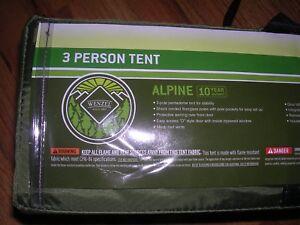 Wenzel Alpine Sport 8.5' x 8' Tent Dark Green