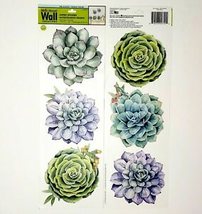 Succulent Main Street Wall Creations Jumbo Wall Stickers Removable Great Quality