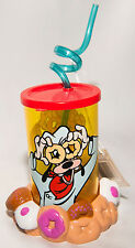Disney Goofy Donut Eyey Drinking Glass with Base