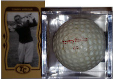 TOMMY ARMOUR 60 SIGNATURE GOLF BALL & HIS TOBACCO STYLE CARD NOW ONLY $12.99