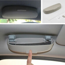 308449 Portable grau Auto Innen Sonnenbrillen Aufbewahrungskoffer Brillenhalter