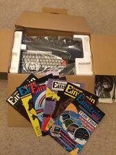 Tatung Einstein 256 Ordinateur, boxed. y compris magazines. exclut Vidéo plomb
