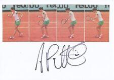 Andrea Petkovic Deutschland  Tennis Karte original signiert 395352