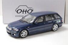 1:18 Otto bmw 330i e46 Touring M-pack Blue 2005 New en Premium-modelcars