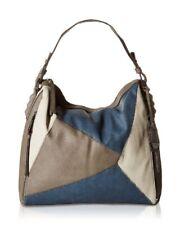 Jessica Simpson Women's Pamela Shopper Tote Grey and Indigo Medium Bag Purse