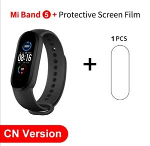 """In Stock Xiaomi Mi Band 5 Smart Bracelet 1.1"""" AMOLED Colorful Screen Heart Rate"""