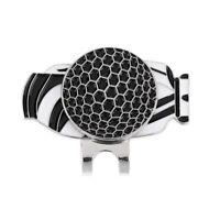 2Pcs Magnetic Ball Marker Hat Visor Clip Golf Ball for Golf Trainer Gift