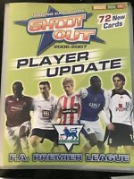 Shoot Out Trading Card Game Empty Album 2006-2007 Player Update Football