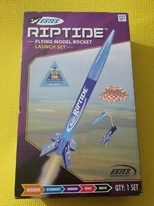 Estes Riptide Flying Model Rocket Launch Set