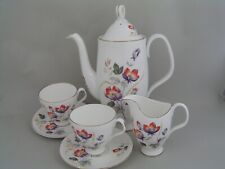 ROYAL ALBERT COFFEE SET FOR TWO, a/f.