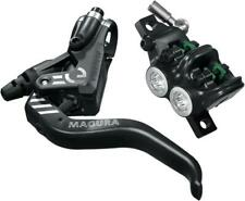 Magura MT5 eSTOP Disc Brake and Lever - Front or Rear, Hydraulic, Post Mount, Bl