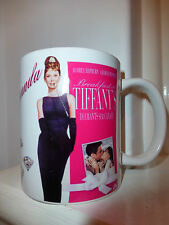 Personalised BREAKFAST AT TIFFANY'S MUG with your name. AUDREY HEPBURN