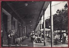 BERGAMO DALMINE 05 BAR - PUBBLICITÀ MOTTA Cartolina FOTOGR. viagg. 1956 PIEGHE !