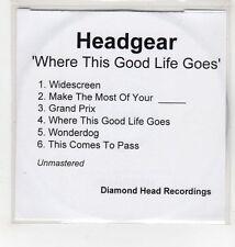 (GI866) Headgear, Where This Good Life Goes - DJ CD