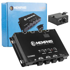 Memphis Audio 6 Channel Line Level Adapter Output Converter w AUX Input LL6SA