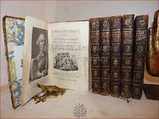 L'OSSERVATORE del GASPARO GOZZI 12 tomi in 6 volumi 1767 Legature Elsa de Giorgi