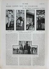 1900 PRINT WAR CORRESPONDENTS MR LYNCH HERNON HEMMENT SOHARA LI HUNG CHANG