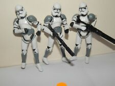 STAR WARS CLONE TROOPER 104TH WOLF PACK 3.75 ACTION FIGURES