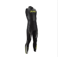 New Zoot Mens Triathlon Wetsuit Size Xs, Small Z-Force 1.0 Sleeveless