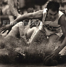 1936 Vintage OLYMPICS Long Jump ARTHUR BAUMLE Germany Photo Art 11x14 PAUL WOLFF