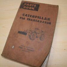 Cat Caterpillar 966 Wheel Loader Parts Manual 75a Series Catalog Book Front End