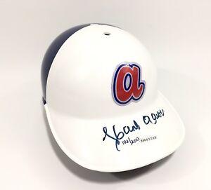 Hank Aaron Signed Braves Throwback Fullsize Helmet UDA Coa Limited 102/200