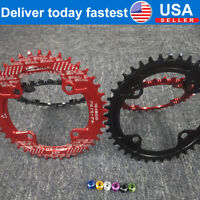 Narrow Wide Chainring 30-52T 104BCD MTB Bike Sprocket Chainwheel Bolts Aluminum