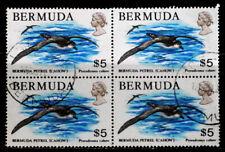 BERMUDA, BRITISH: 1978 STAMP BLOCK OF 4 CV $48 SOUND