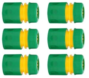 """5Pcs 1/2 """" Plastic Coupling Garden Quick Connector Hose Pipe Connector Fitting"""