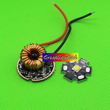 Cree XM-L2 XML2 Led Warm White 3000K Chip Light 20MM+ 5-modes 3.7-15V led driver