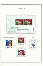 CANADA 2006  LIGHTHOUSE page 2006.2 - QUEENS BIRTHDAY etc M/Sheet & singles MNH