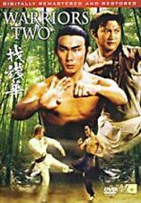 WARRIORS TWO- NEW DVD Hong Kong RARE Kung Fu Martial Arts Action movie - NEW