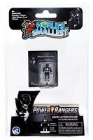 World's Smallest Mighty Morphin Power Rangers Micro Action Figures: Black Ranger