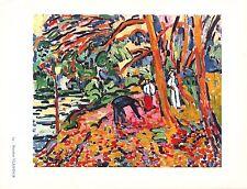 Maurice Vlaminck,Paysage au bois ,Offs. Lithograph1942,Plate Nr.14.Plate-signed