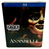 Annabelle FYE Exclusive Limited Edition Steelbook (Blu-Ray) Factory Sealed
