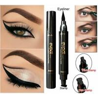Chic Winged Eyeliner Stamp Waterproof Makeup Cosmetic Eye Liner Pencil Liquid