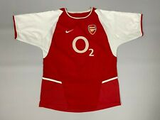 ARSENAL 2003/2004 HOME FOOTBALL SOCCER JERSEY SHIRT BOYS SIZE L