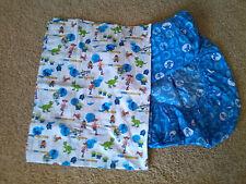 Disney Pixar Toy Story Flat & Fitted Toddler Crib Sheet Set Woody Buzz