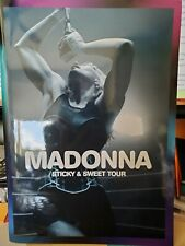 Madonna Sticky and Sweet Concert Tour Program, 2008-2009