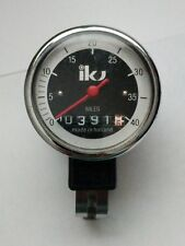 Vintage IKU Bicycle Speedometer 0-40 MPH