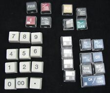 Casio PCR-260 Commercial Cash Register Keyboard Replacement CAPS Key covers Lot