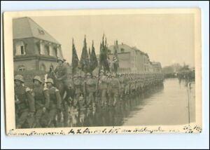 Y10983/ Trier ? Fahnenkompanie Regiment 105 Heldengedenktag 1937 Foto AK