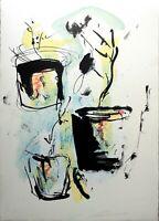 Ernesto Treccani - Litografia originale firmata
