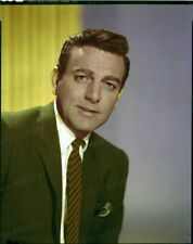 8x10 Original Color Transparency Mike Connors #5502884