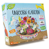 Paint and Grow Your Own Unicorn Garden Planter Paint Glitter Castle Activity Kit