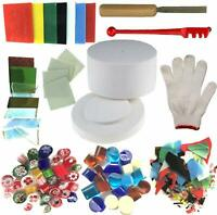 Microwave Kiln and Professional Simple Making DIY Fusing Glass Jewelry Tools Set