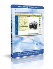 GS Kamera-Verwaltung 5 - Software zur Verwaltung Ihrer Sammlung