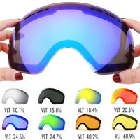 New Winter Skiing Goggles Lens Snowboard Adults Anti-fog UV Ski Mirror Dual Lens